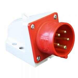 Wall mounted plug